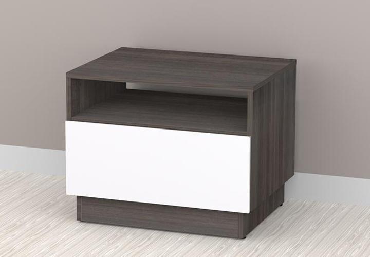 Nexera Allure End Table - 1 Drawer