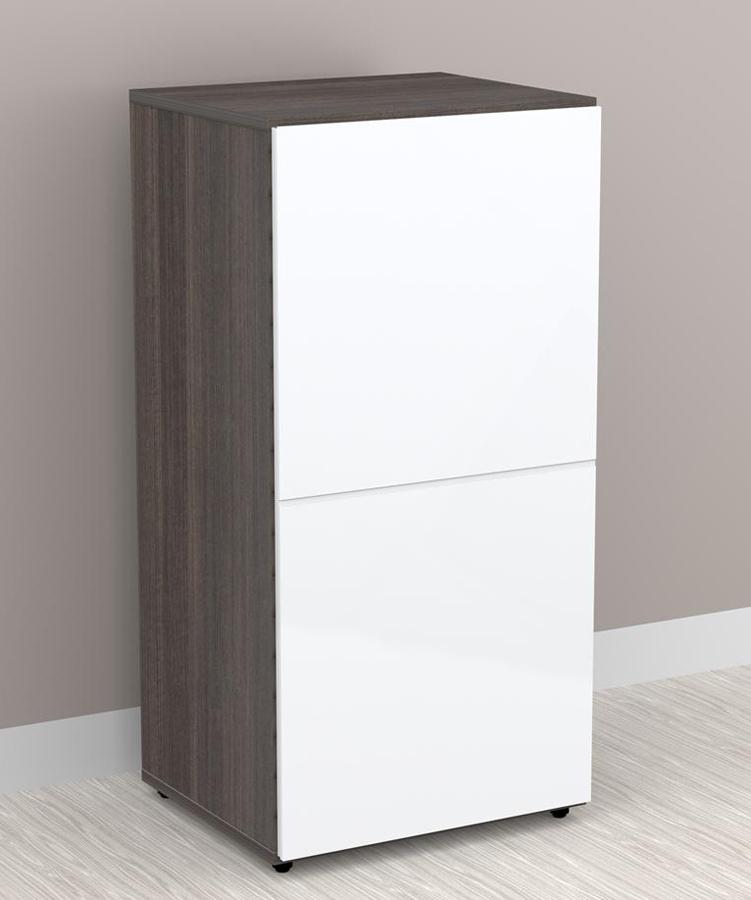 Nexera Allure 36 inch Storage Cabinet - 1 Door