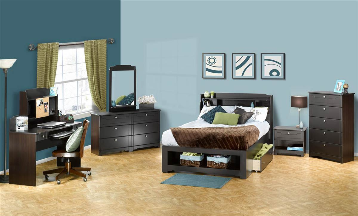 Nexera Dixon Storage Bedroom Collection