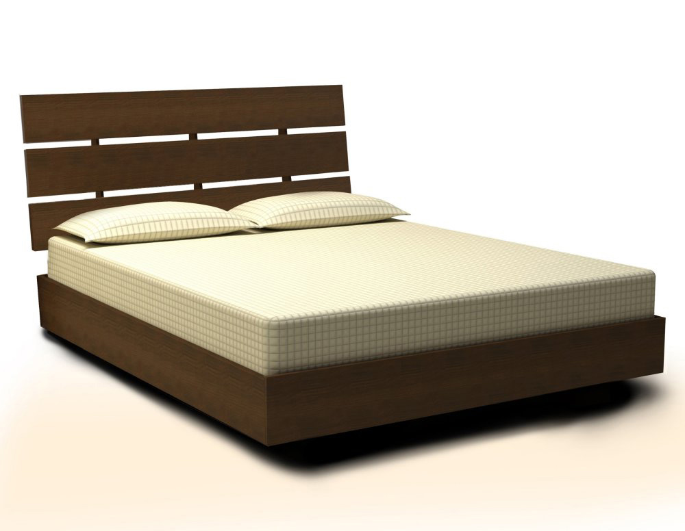 Nexera Nocce Bed and Headboard