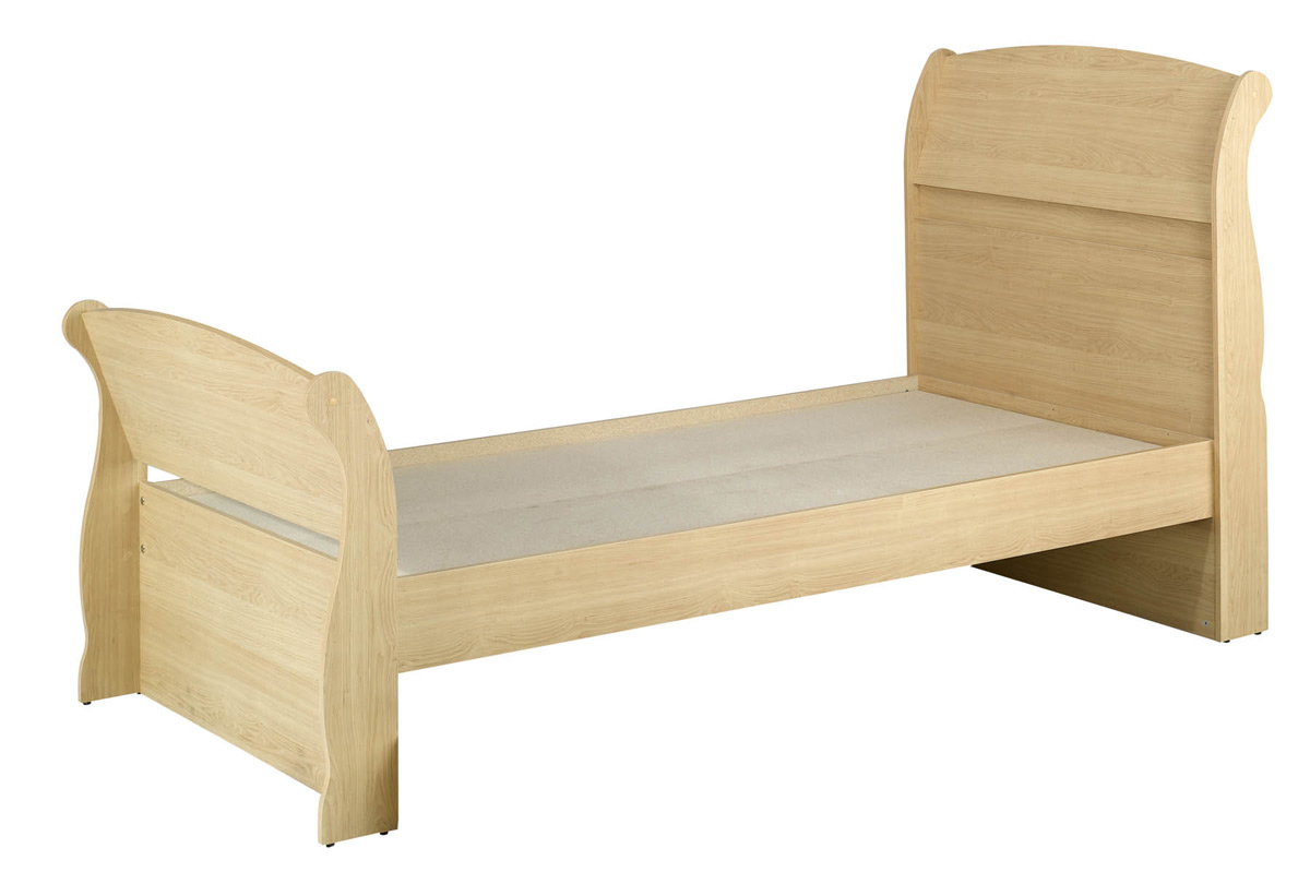 Nexera Alegria Twin Sleigh Bed