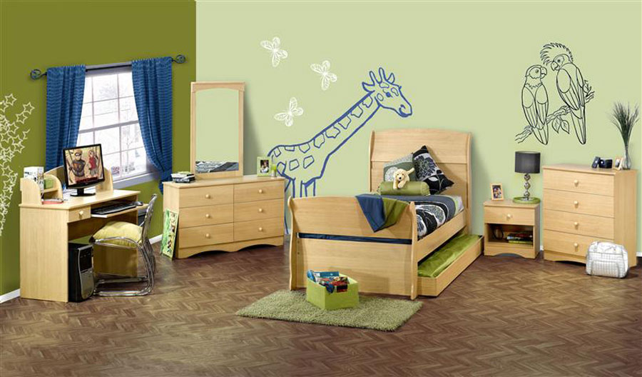 Nexera Alegria Sleigh Bedroom Collection