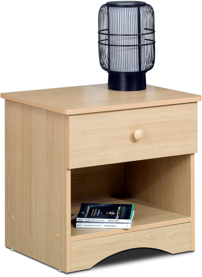 Nexera Alegria Bedside Table