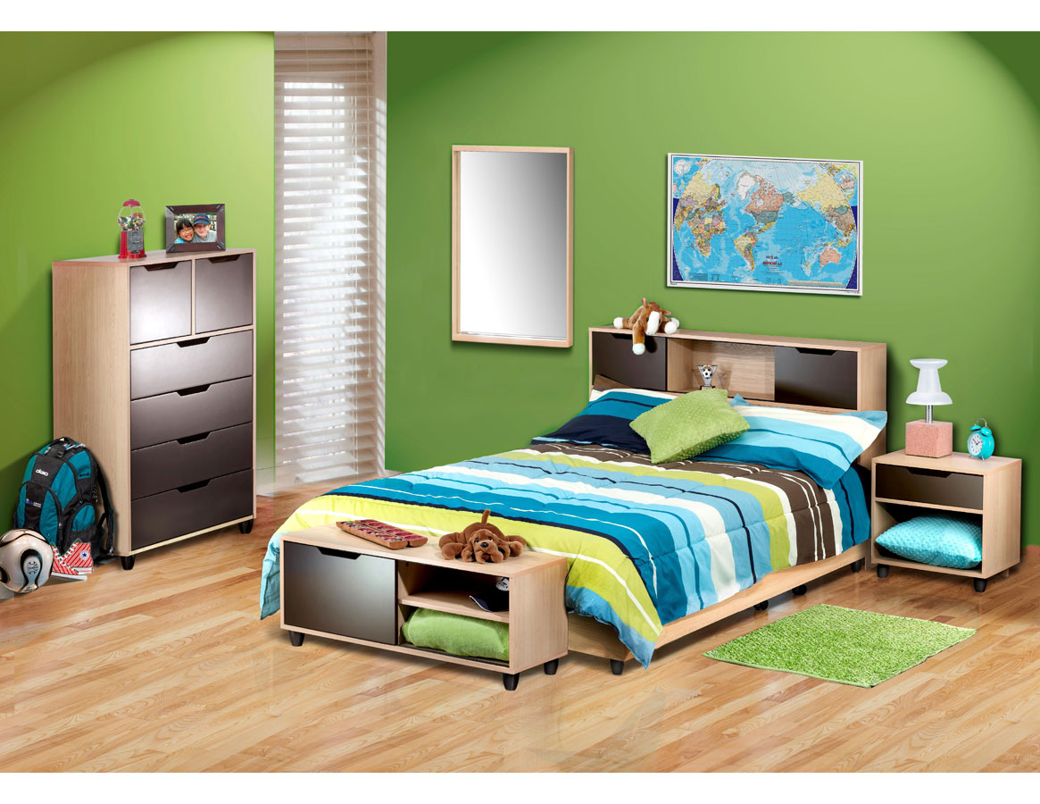 Nexera Colori Bedroom Collection