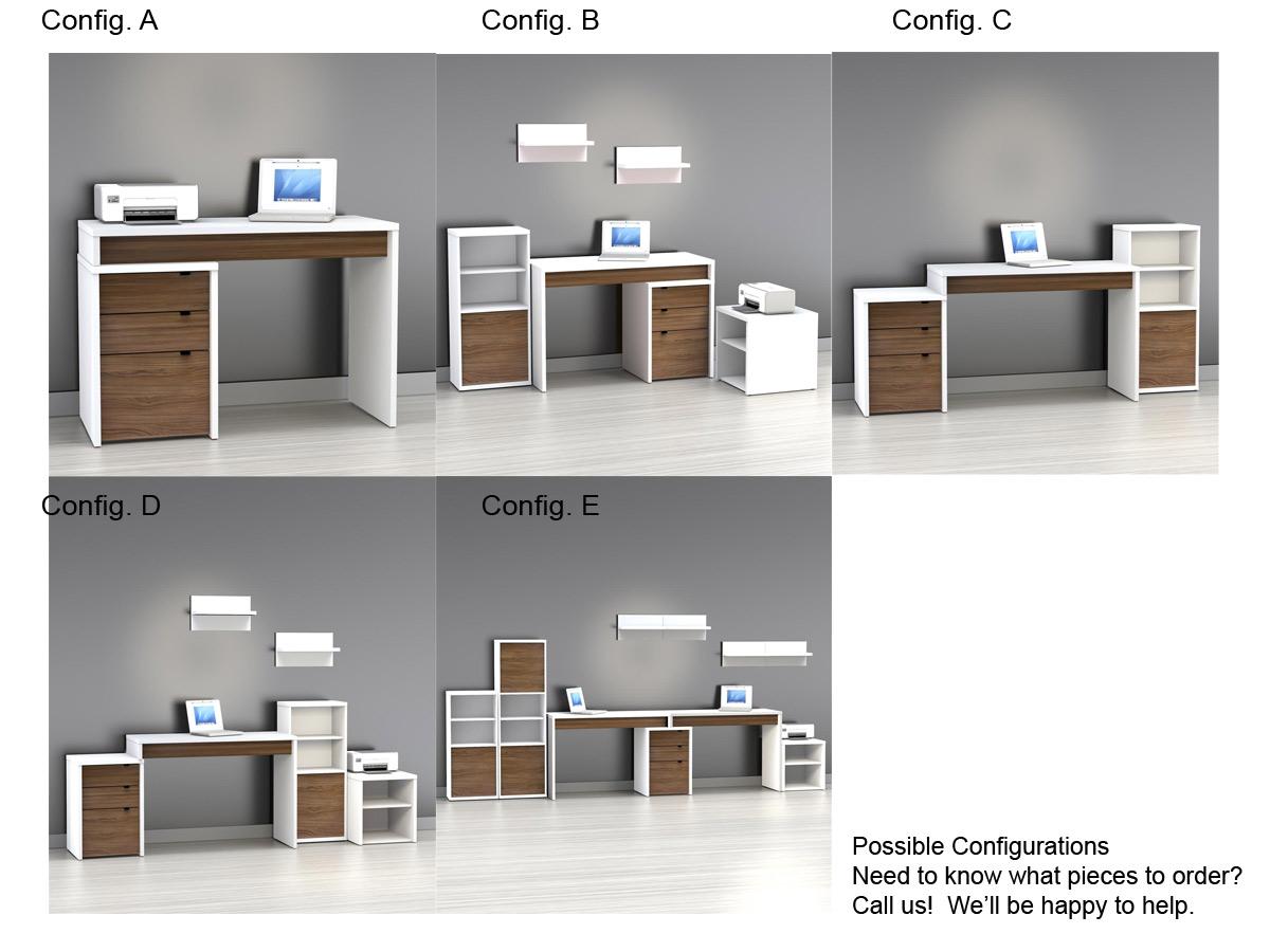Nexera Liber-T Home Office Set