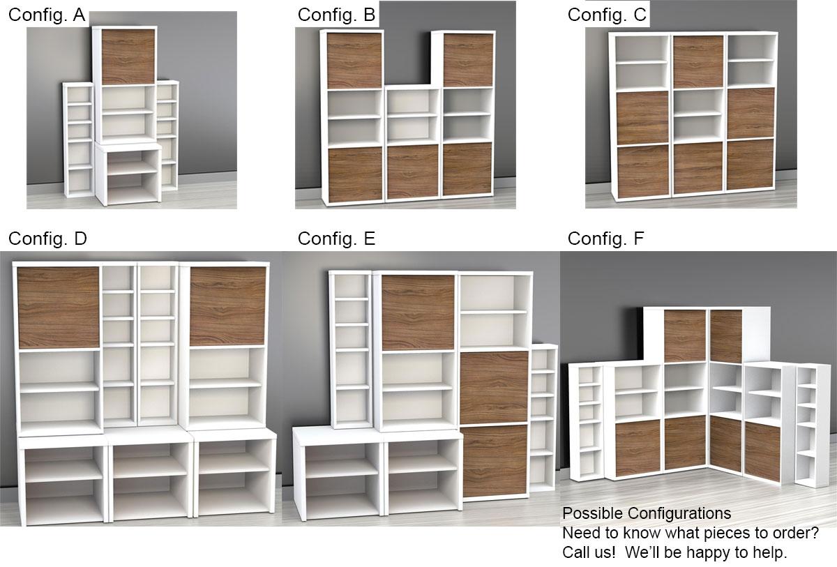 Nexera Liber-T Storage Set
