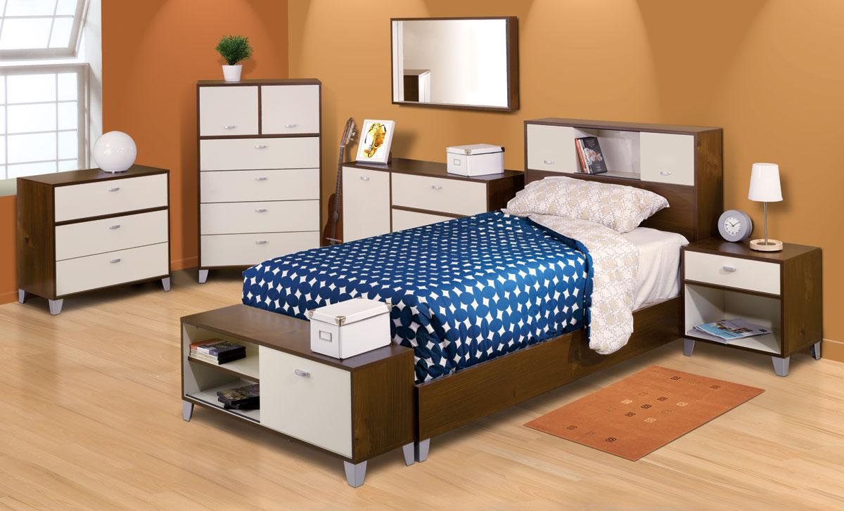 Nexera Topolino Bedroom Collection