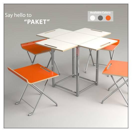 Cheap offi Paket Folding Table Set – Color Options