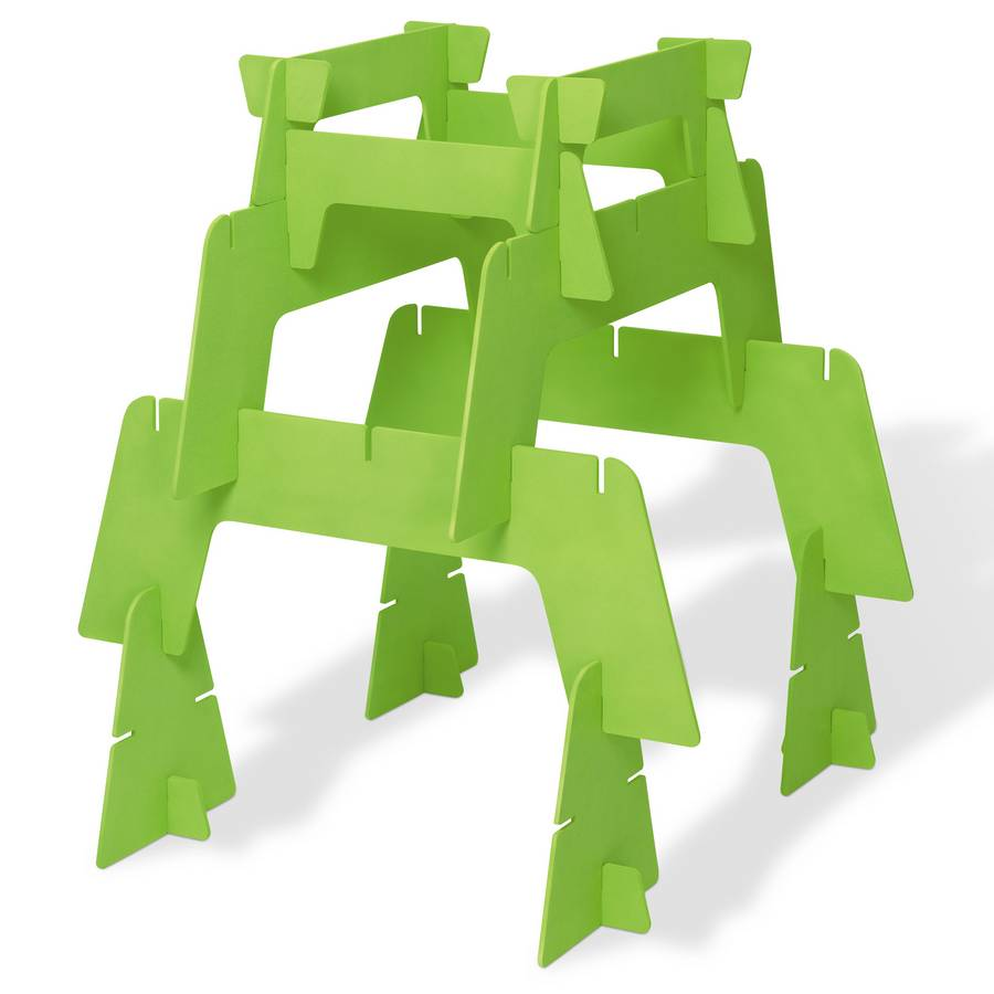 offi Spaceframe Builders Kit - Lime - Offi