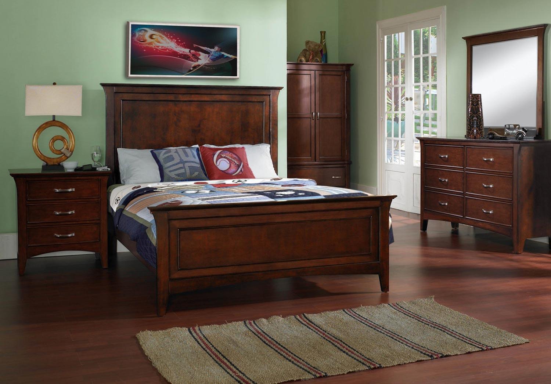 Pulaski Bridgeport Panel Bedroom Set