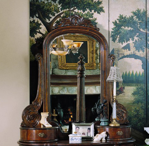 Pulaski Edwardian Vanity Mirror