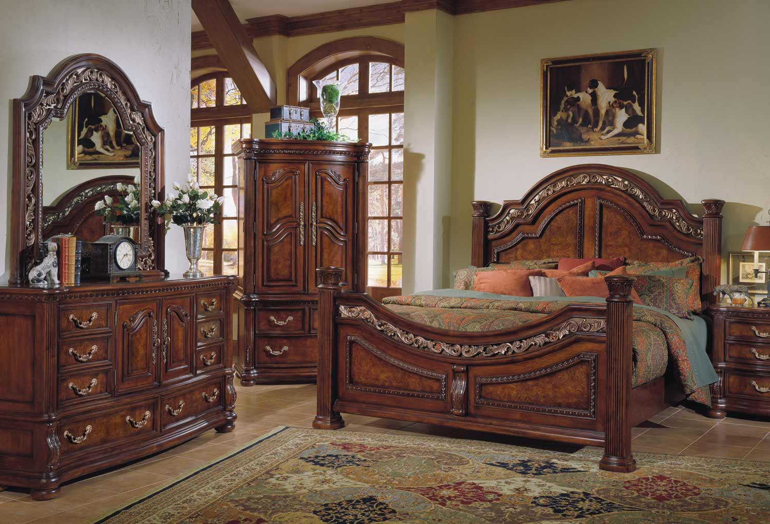 Pulaski San Marino Bedroom Set