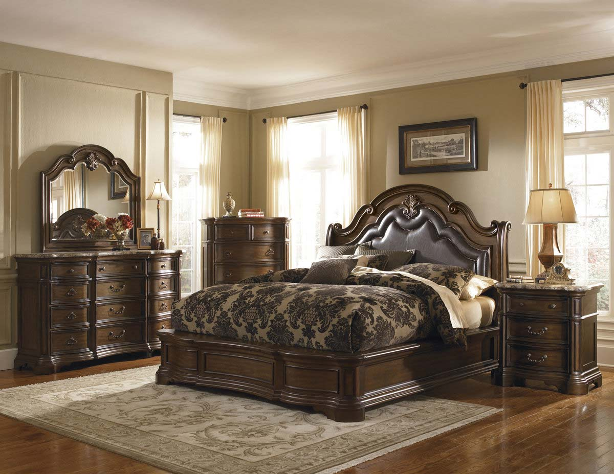 courtland bedroom collection pulaski pf 5041 bed set