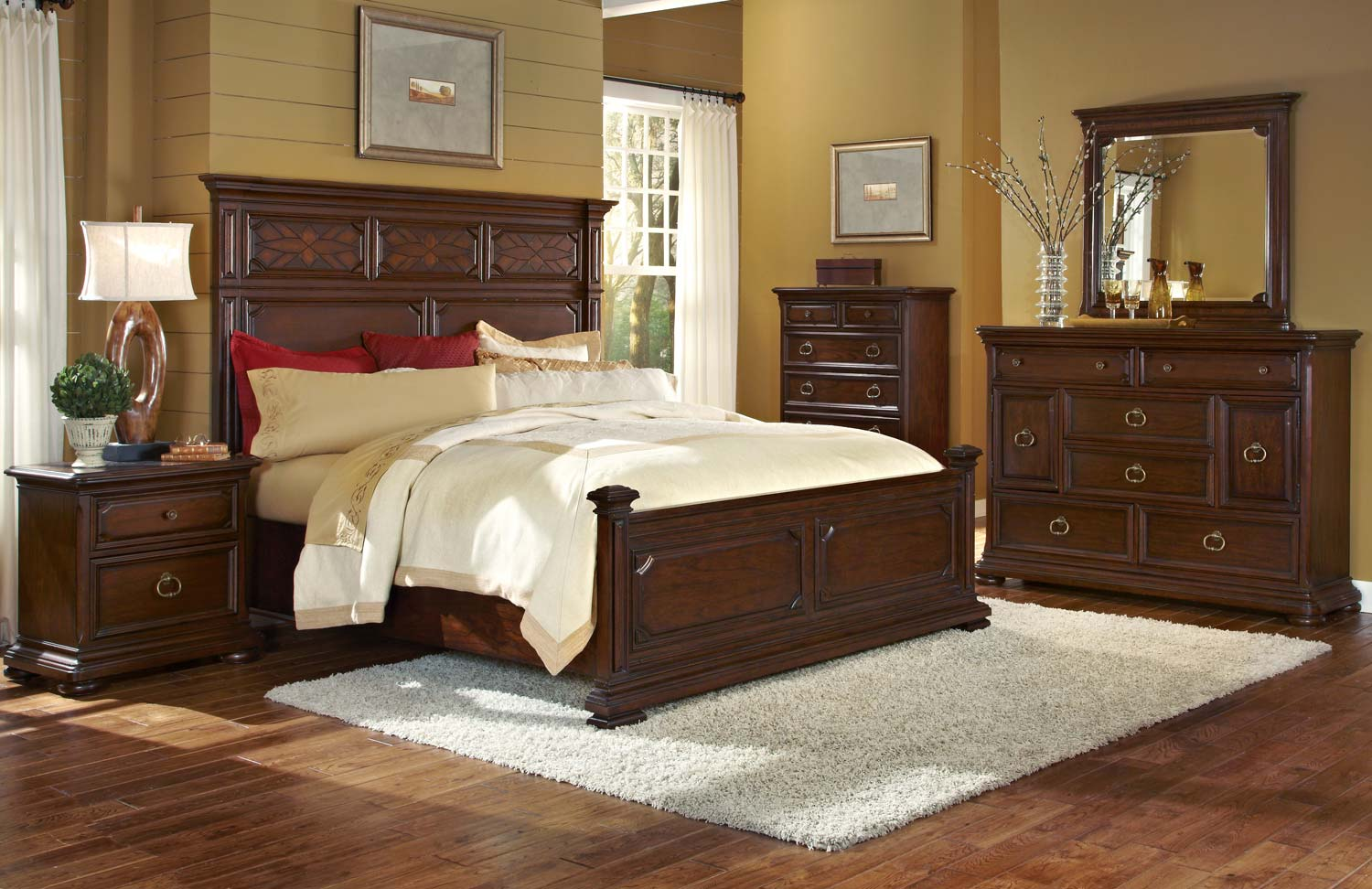 Pulaski Sedona Valley Bedroom Set