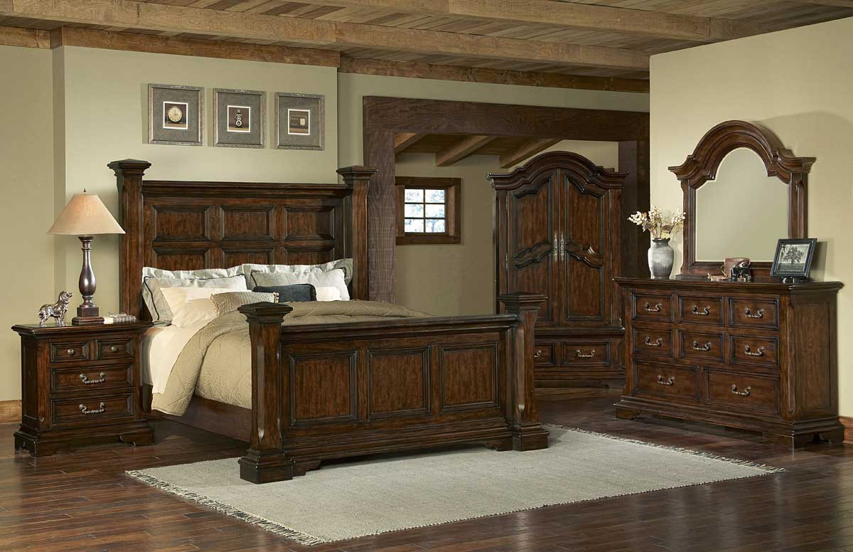 Pulaski Timber Heights Poster Bedroom Collection