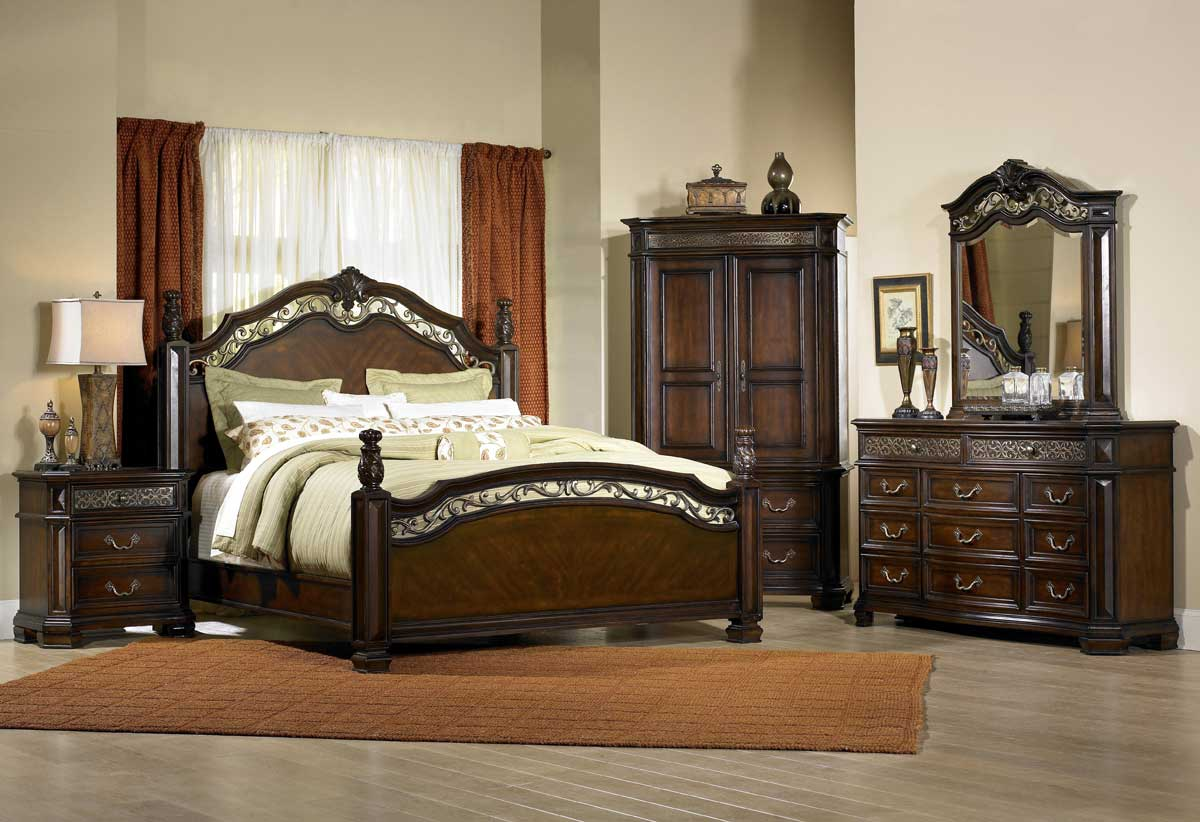 pulaski costa dorada poster bedroom collection. Black Bedroom Furniture Sets. Home Design Ideas