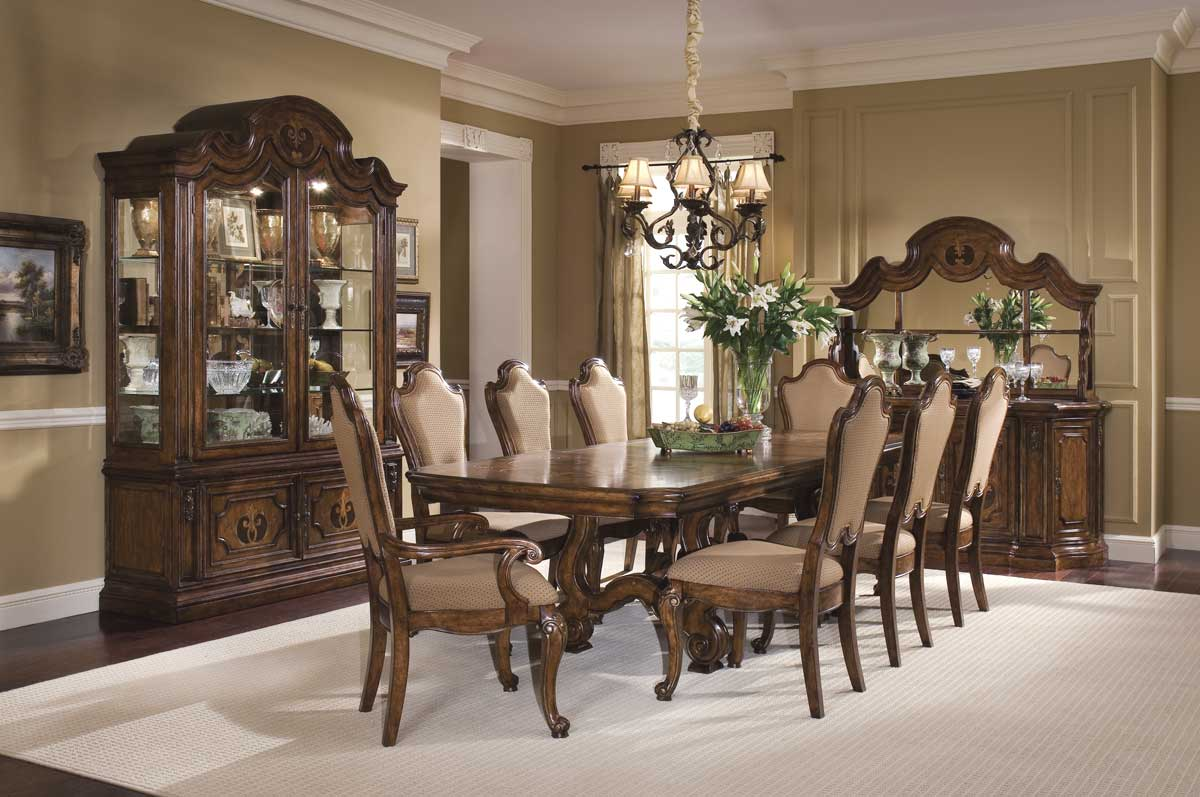Pulaski Palazzo Trestle Dining Collection