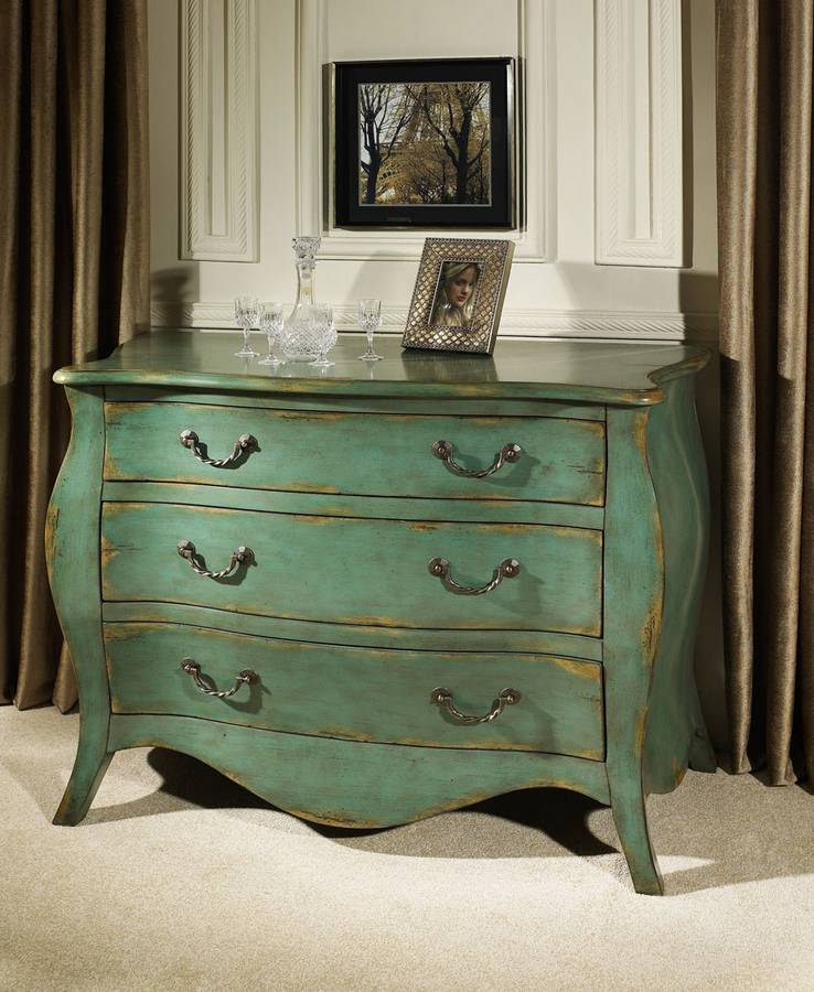 Cheap Pulaski Weathered Blue Bombay Chest