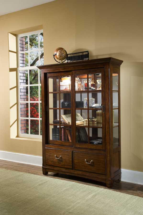 Cheap Pulaski Toscano Vialetto Bookcase-Curio