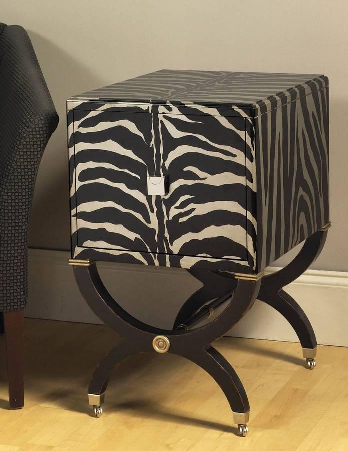 Cheap Pulaski Mystic Zebra Chest