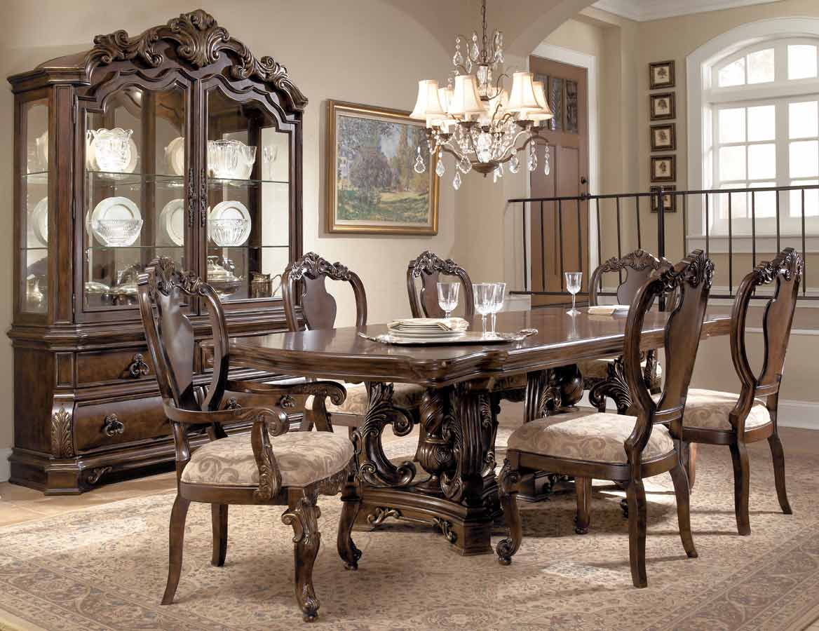 Pulaski wellington manor dining collection pf 962240 1 set at - Pulaski dining room ...