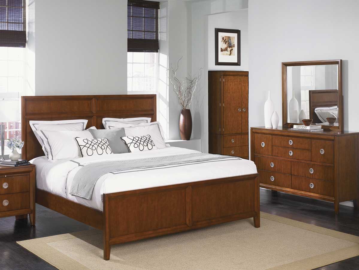 Pulaski Midtown Bedroom Collection Pf 801170 Bed Set At