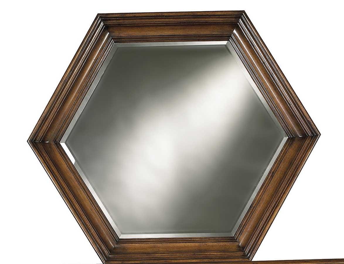 Pulaski Cantabria Hex Mirror