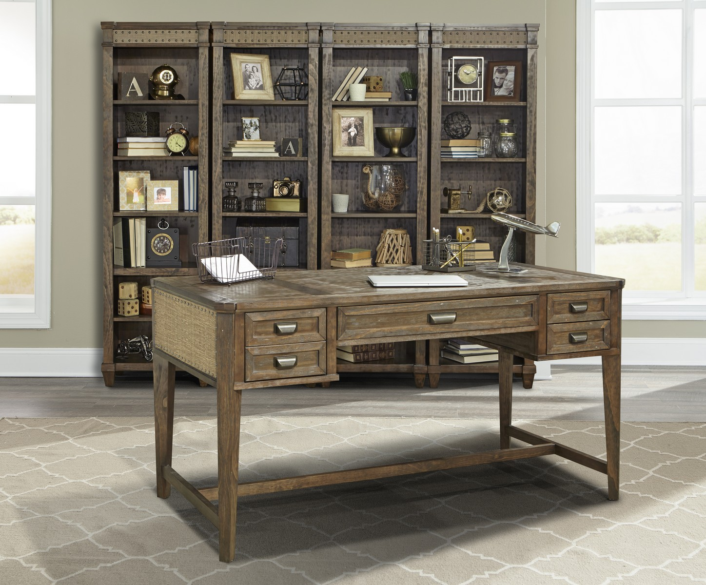 Parker house aberdeen 60 inch writing desk