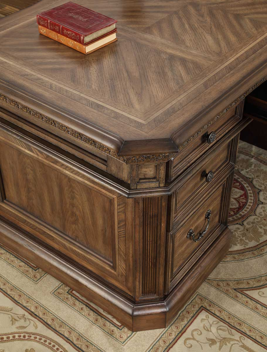 Parker House Aria Double Pedestal Executive Desk