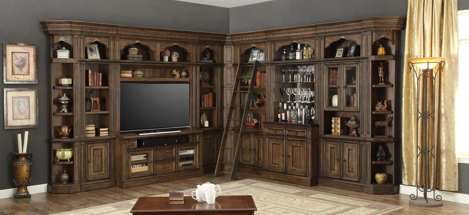 Parker House Aria Library Wall Unit D