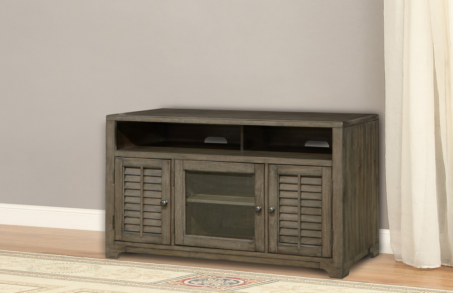 Parker House Austin 55-inch TV Console with Louvered Doors