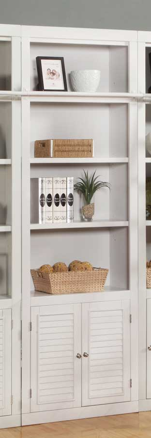 Parker House Boca 32in Open Top Bookcase