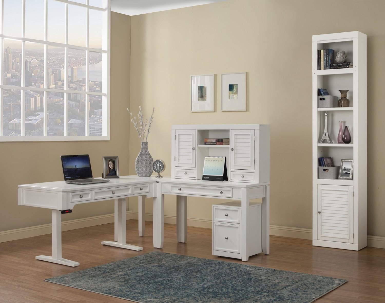 Parker House Boca Home Office Set 2 - Cottage White