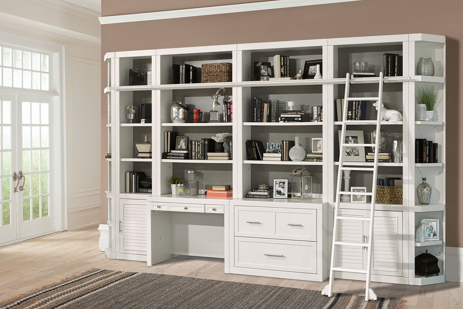 Parker House Catalina Home Office Library Bookcase Set 1