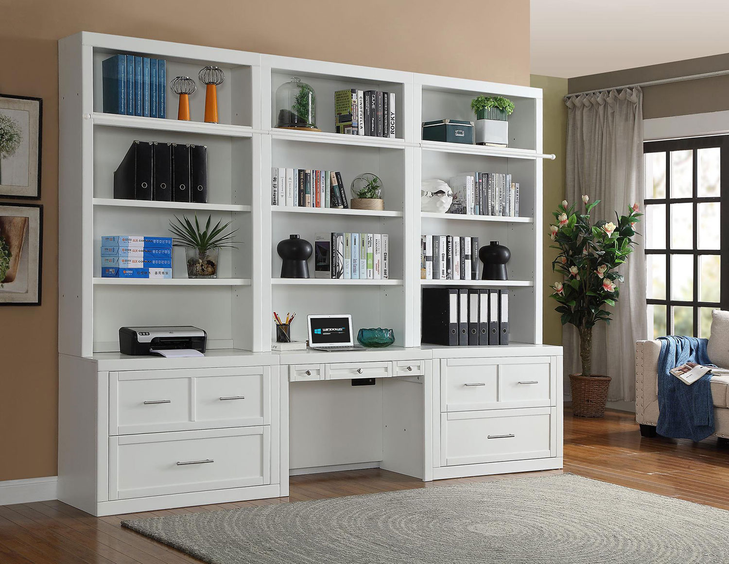 Parker House Catalina Home Office Library Bookcase Set 4