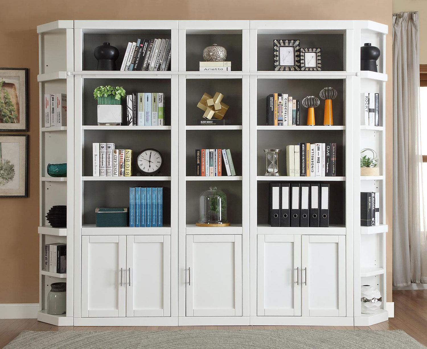 Parker House Catalina Library Bookcase Set 3