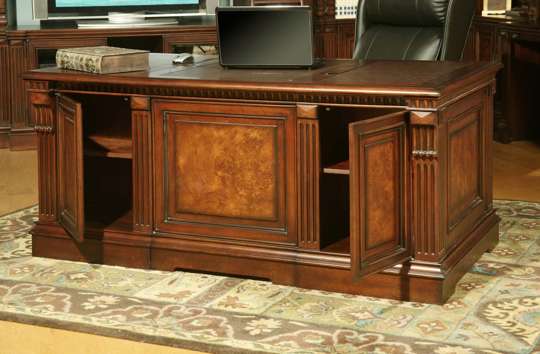 Parker House Corsica Double Pedestal Executive Desk