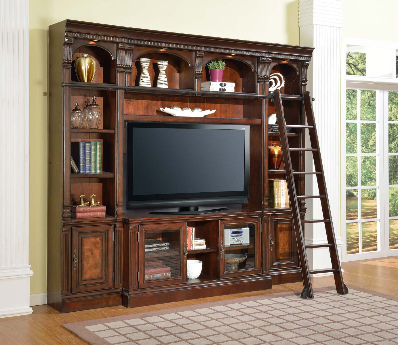 Parker House Corsica Space Saver Entertainment Center 60in