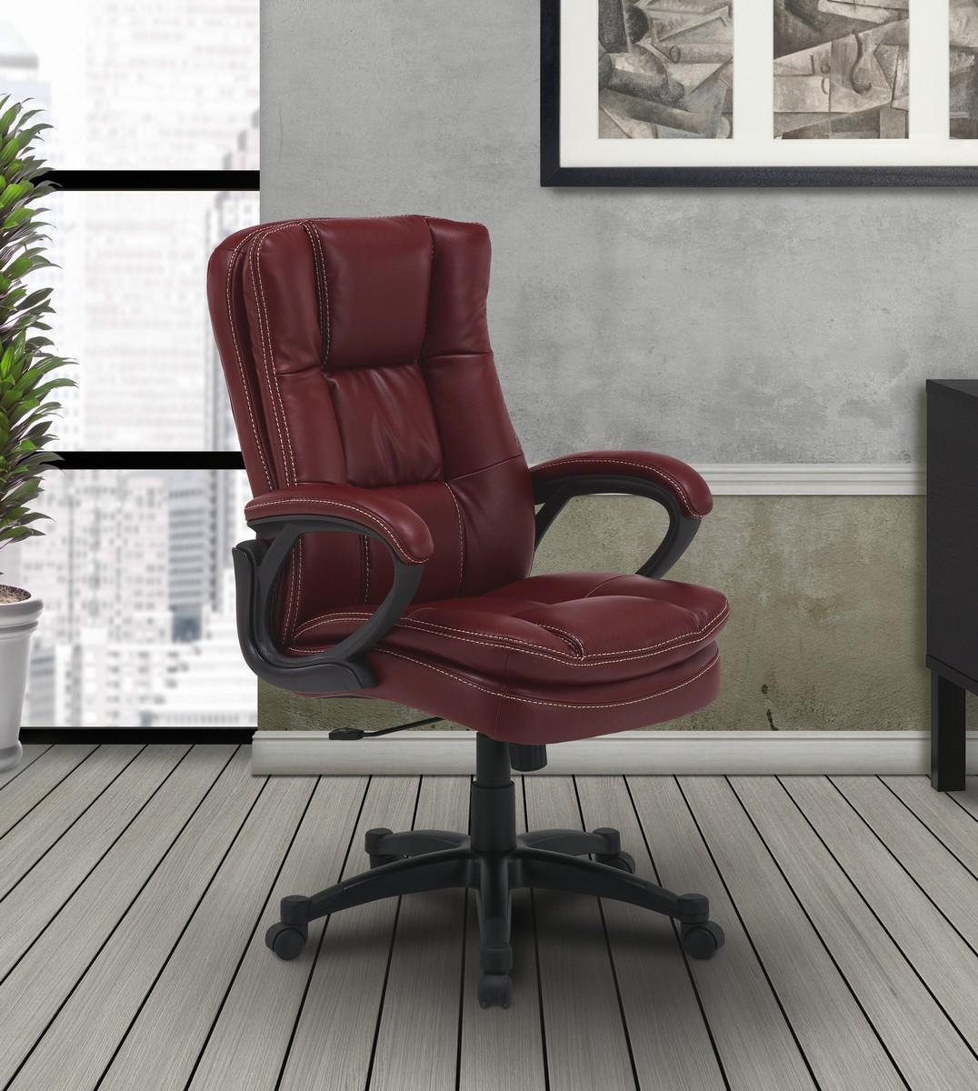 Parker House Signature Dc 204 Gar Desk Chair Garnet Ph