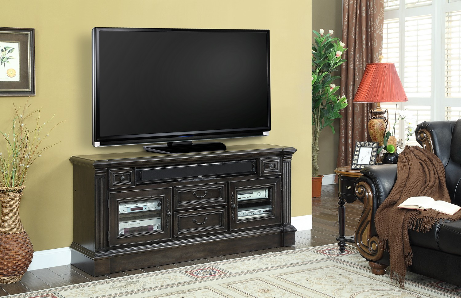 Parker House Fairbank 65-inch TV Console