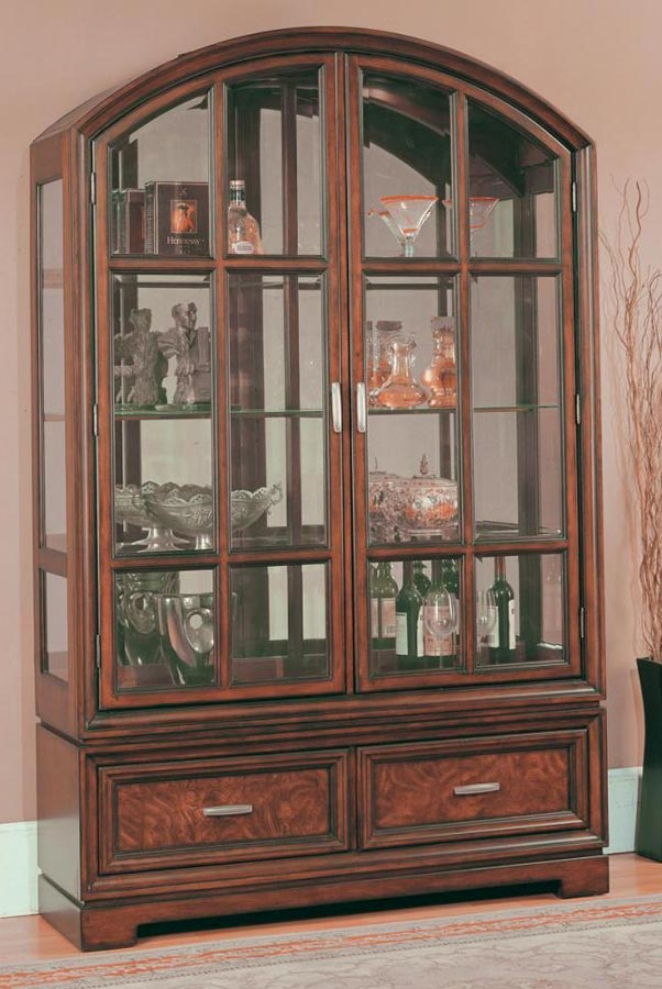 Parker House GALI 8000 2 Grand Manor Alicante Curio Cabinet