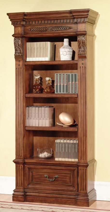 Parker House Grand Manor Granada Museum Bookcase