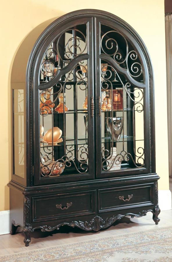 Grand Manor Palazzo Curio Cabinet - Parker House
