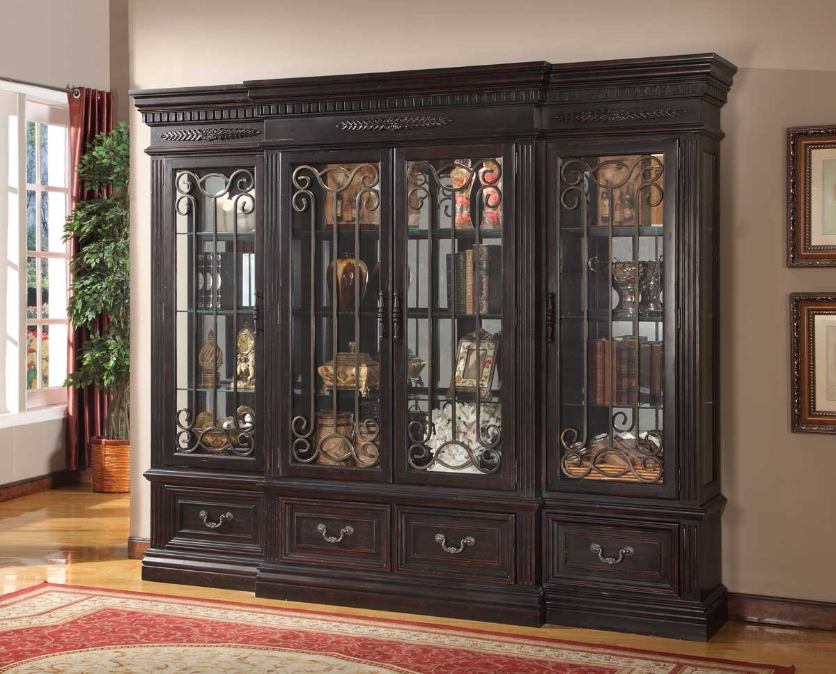 Parker House Grand Manor Palazzo 4 Pc Display Wall Curio
