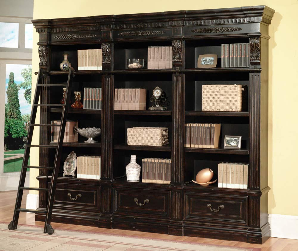 House Bookshelf: Parker House Grand Manor Palazzo 3 Piece Bookcase PH