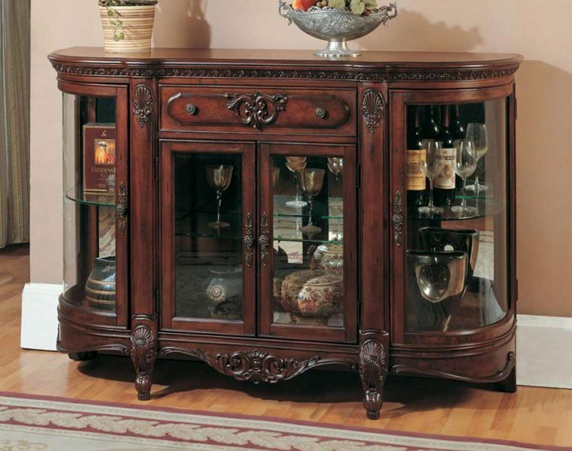 Parker House Grand Manor Roma Credenza Ph Grom 8500 At