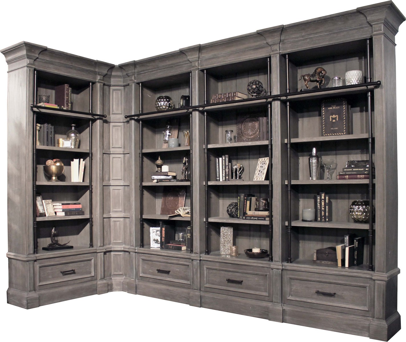 Parker House Gramercy Park Museum Bookcase Set