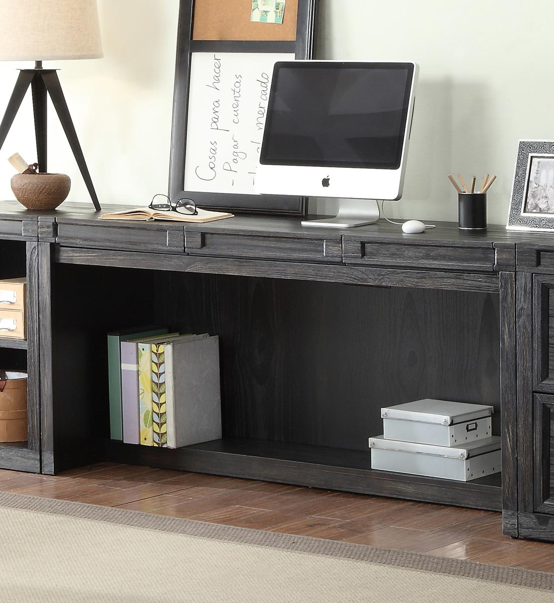 Parker House Hudson 63 Inch In Wall Desk With Center