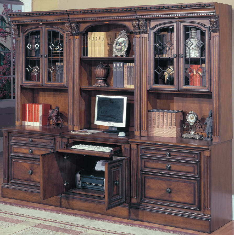 Home Office Furniture Manufacturers: Parker House Huntington Home Office Suite 6pc Modular