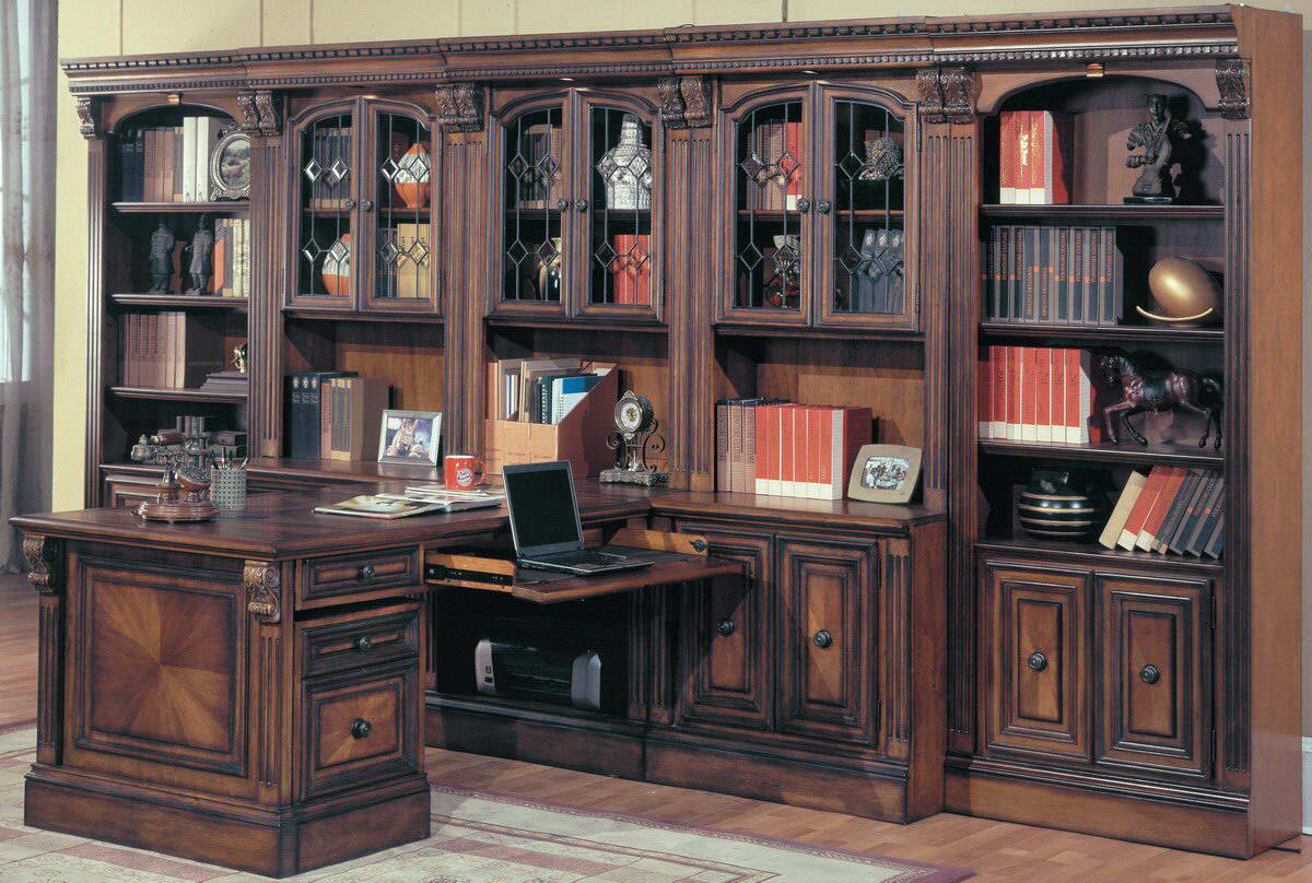 The Library Walls Of Furniture Brand Parker House Have A Very Beautiful Design Looks Stylish And Cly It Is Made High Quality